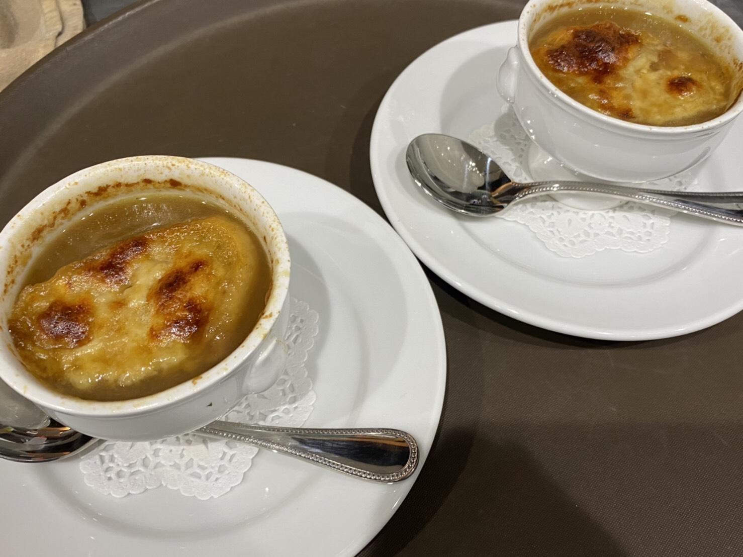 オニオングラタンスープ♪